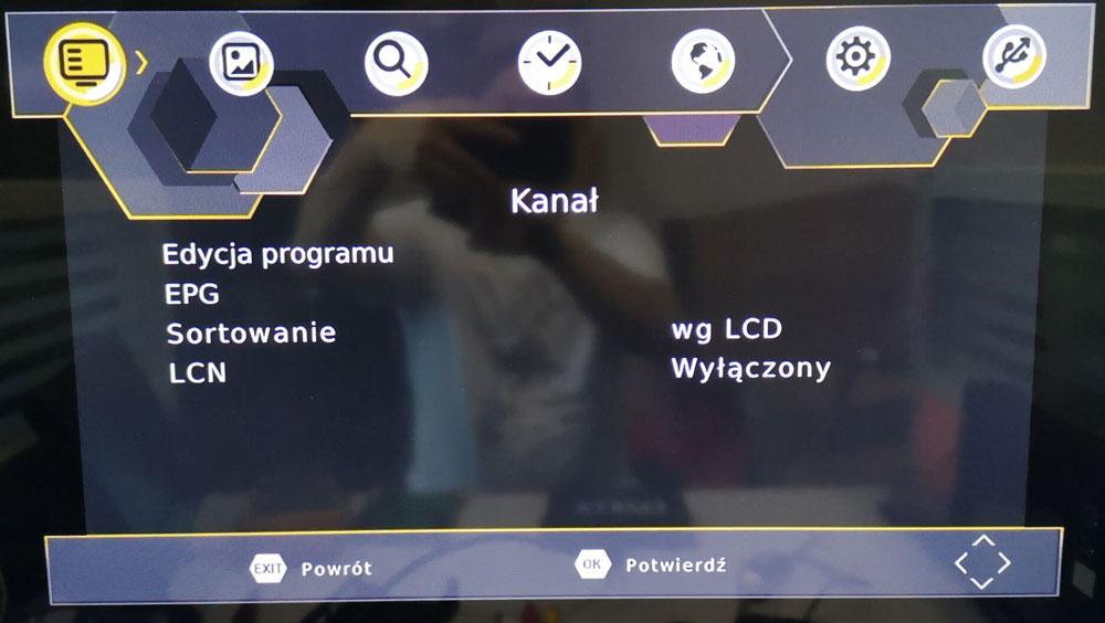 Poland car dvb-t2 MPEG2 dvb-t digital tv receiver 3