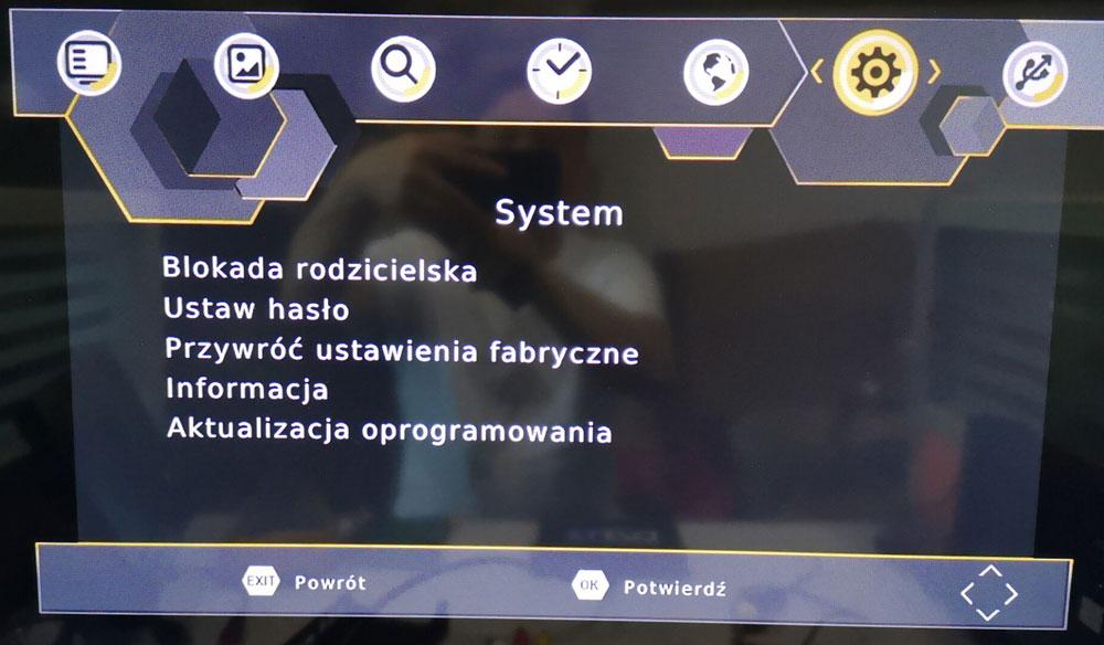 Poland car dvb-t2 MPEG2 dvb-t digital tv receiver 7