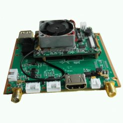 H.265 decoding play board two ways wireless link