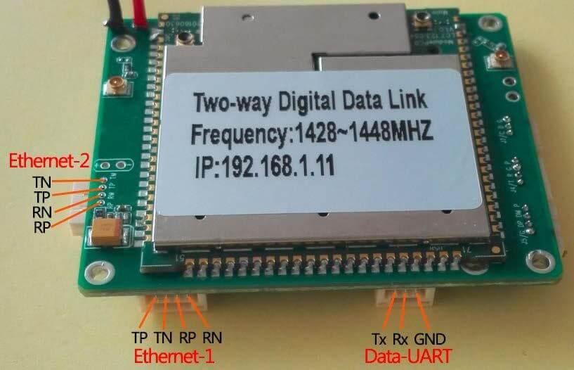 Two-way wireless transmission digital data link module Vcan1681 5