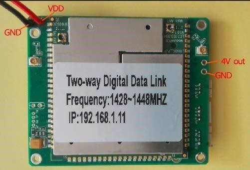 Two-way wireless transmission digital data link module Vcan1681 4
