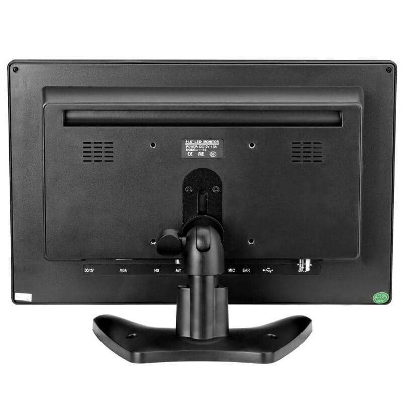 11.6 inch VGA Touch screen wide monitor USB HDMI 1080P for POS Kiosk Vending Machine 1