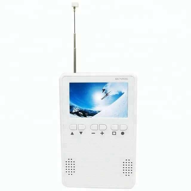 one seg tv am fm radio 3.2 inch monitor Portable digital isdb-t tv Pocket TV with speaker earphone output 6