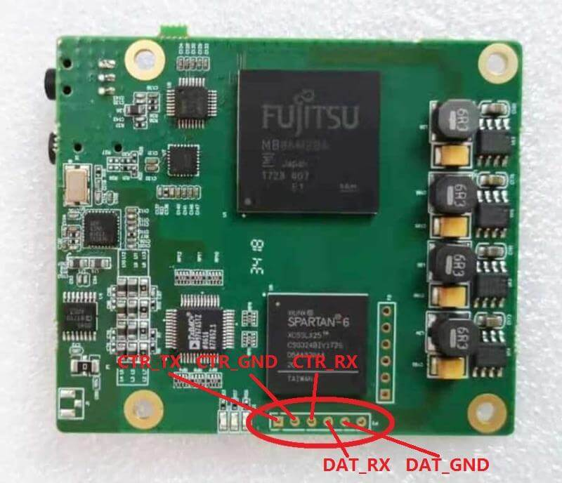wireless transmitter board