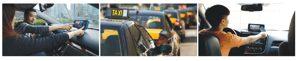 Android taxi mobile data terminal MDT