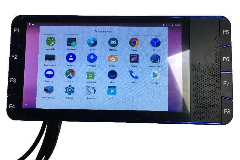 mobile data terminal android taxi dispatch fleet tracking system mdt tablet software services 5