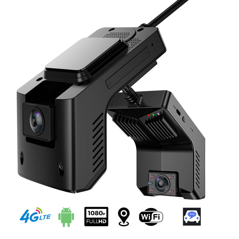 taxi camera android DVR in-car 3G 4G Dual Lens 2 Channel Dashcam mobile truck bus insureance fleet management telematics Uber driver Vcan1638 tw1 8