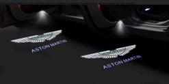 Courtesy lamp logo light door for Aston Martin DB9 DB11 DBS V8 V12 Vantage modification 3