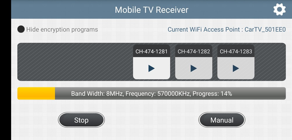 WIFI DVB-T2 Tuner Digital TV DVB-T Receiver for Android phone and pad Vcan1654 22