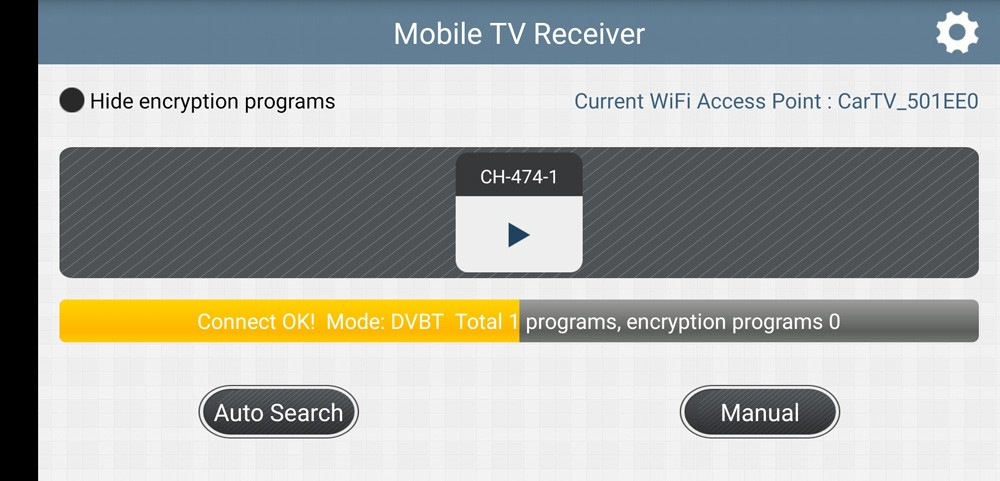 WIFI DVB-T2 Tuner Digital TV DVB-T Receiver for Android phone and pad Vcan1654 23