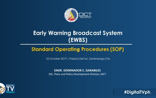 Philippines ISDB-T EWBS 2