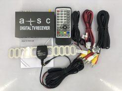 ATSC Car TV Digital receiver for USA Canada Mexico auto mobile tuner hdmi box 7