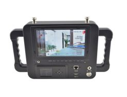 7 Inch COFDM wireless receiver HD LCD Monitor Video Receiver Sun Shade for transmitter transmission system 6