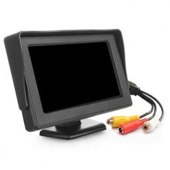4.3 inch car Review monitor hd for parking reverse camera 6