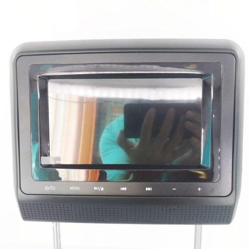 7 inch Headrest DVD player Black USB SD IR FM vc011 5