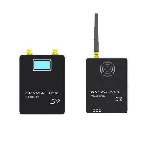 COFDM Digital Video Transmitter wireless HD video transmitter receiver full set transmission for UAV drone security camera 2