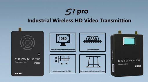 COFDM Digital Video Transmitter Receiver wireless HD video transmitter TX UX for UAV 3