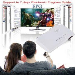 Digital TV ISDB-T ISDB-C Receptor TV Tuner Receiver TDT Set Top Box H.264 HDTV Decoder 7