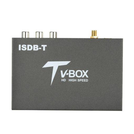 single antenna Car ISDB-T Digital TV Box HD fullSeg Receiver Mobile Digital TV Receiver for Brazil Chile Peru 1