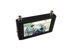 Handheld Wireless Receiver 7 inch Touch Screen COFDM Receiver Digital Video Receiver with 7 inch Monitor 8