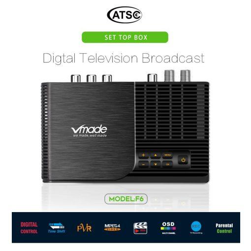ATSC T terrestrial digital HD TV receiver work at USA Canada Mexico Korea tuner ATSC-T atsc t standard 3