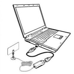 ISDB-T USB Dongle