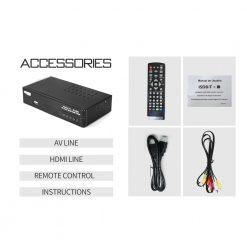 Digital Terrestrial ISDB-T TV Tuner Receiver Set-Top Box Fully HD 1080P H.264 USB Decoder Brazil Chile Peru Costa Rica 11
