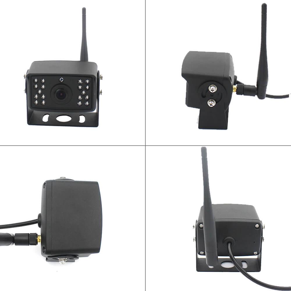 7 inch quad monitor wireless camera DVR for auto mobile truck Vehicle screen rear view monitor reverse backup recorder wifi camera 32