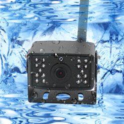 7 inch quad monitor wireless camera DVR for auto mobile truck Vehicle screen rear view monitor reverse backup recorder wifi camera 24