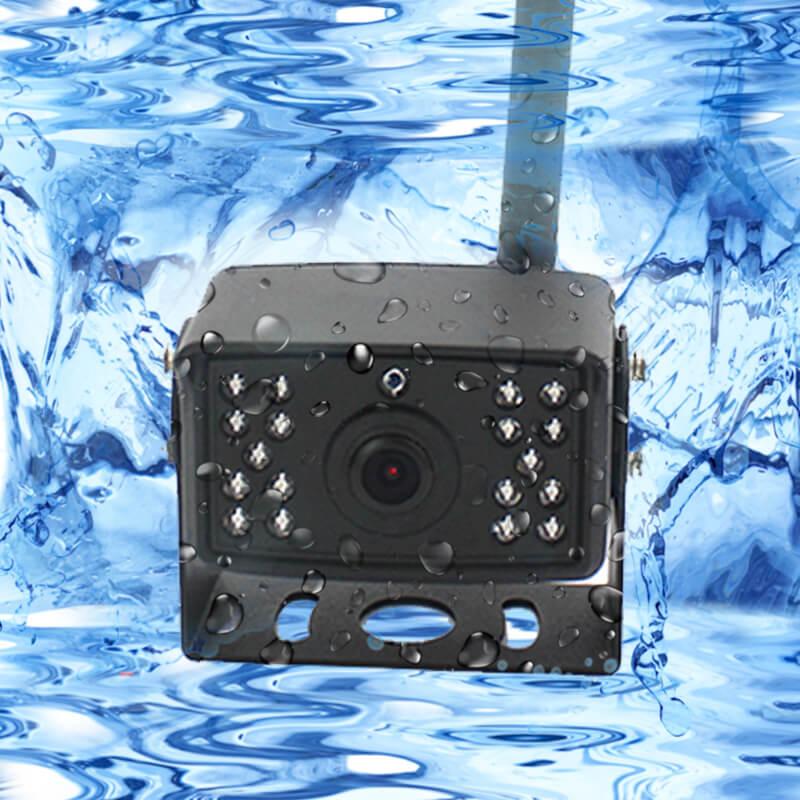 7 inch quad monitor wireless camera DVR for auto mobile truck Vehicle screen rear view monitor reverse backup recorder wifi camera 38