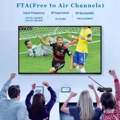 DVB-T2 H265 Scart TV Tuner Box Digital Terrestrial Receptor WIFI Receiver Youtube Set Top Box 1080P IPTV Box 7