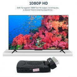 DVB-T2 H265 Scart TV Tuner Box Digital Terrestrial Receptor WIFI Receiver Youtube Set Top Box 1080P IPTV Box 8