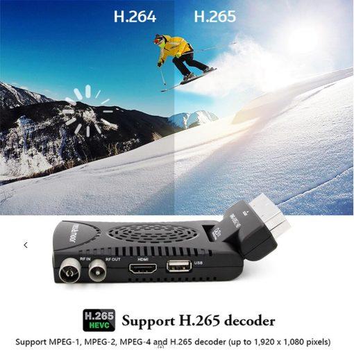 DVB-T2 H265 Scart TV Tuner Box Digital Terrestrial Receptor WIFI Receiver Youtube Set Top Box 1080P IPTV Box 6