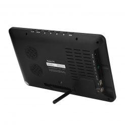 9 Inch HD Portable Digital TV DVB-T2 ATSC ISDB-T TDT Analog Mini Small Car Television Support USB SD Card MP4 AC3 10