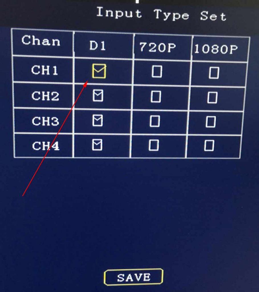 Does 1080P DVR support normal CVBS camera input? 2